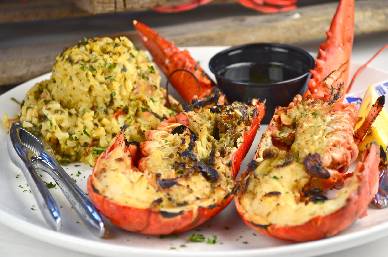 Charbroiled Lobster